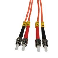 0.3m ST-ST Duplex Multimode 62.5/125 Fiber Cable