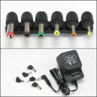 500mA Universal AC/DC adapter w/6 Plugs