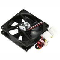 90x90x25mm Cooling Fan Sleeve Bearing DC12V 3/4Pin Combo
