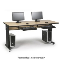 "72"" W x 30"" D Training Table - Hard Rock Maple"