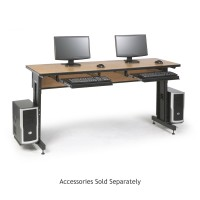 "72"" W x 24"" D Training Table - Caramel Apple"
