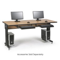"72"" W x 30"" D Training Table - Caramel Apple"