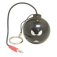 """Mini Rechargeable Bomb Speaker Design """"D"""", Angry"""