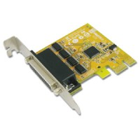4-port RS-232 Low Profile PCI Express Board