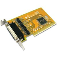 4 Port RS-232 Universal Low-Profile PCI Serial Card