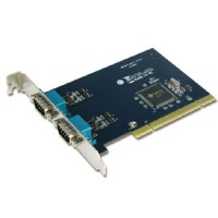 Industrial 2-port RS-422/485 Universal PCI Board