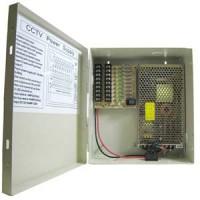 DC12V 12Amps 9-Port Power Supply Box (UL)