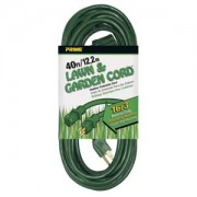 40Ft 16/3 Lawn and Garden Extension Cord